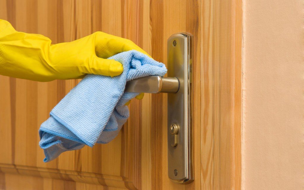 how to disinfect home, sanitizing method